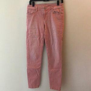 Loft pink jeans size 27/4 T
